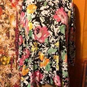 Ralph Lauren Top size med women's floral